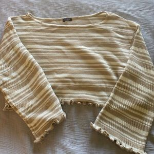 Never worn nasty gal cropped beach sweater